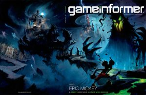 EPIC MICKEY by cherry12