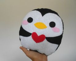 Penguin plushie :3 by chococat830