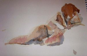 Life Drawing 13 by Bendragonx