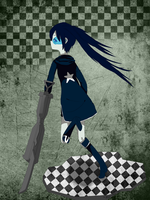Black Rock Shooter by Nui-Nui