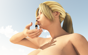 Vue giantess 59: A Big kiss. by nyom87