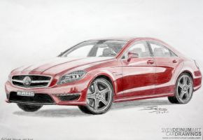 Mercedes-Benz CLS63 AMG by SD1-art