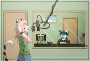 The Recording Studio by Voxian