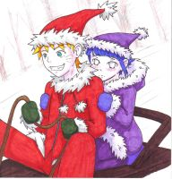 Naruto Sleigh Ride by washue