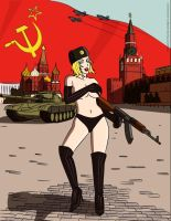 Soviet Babe by steamed