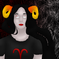Aradia Megido colored aGAIN by j9co