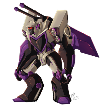 Blitzwing Random by UndeadKitty13