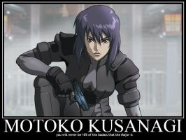 Motoko Kusanagi Demote by Sailmaster-Seion