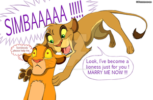 SIMBA YOU SHALL BE MINE !!!1! by Pouasson-de-oro