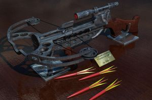 Composite crossbow by DIAMOD