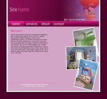 Kids Site Design 3 by rjoshicool