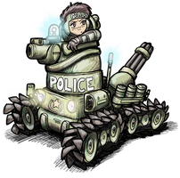Dominion Tank Police by alexsanlyra