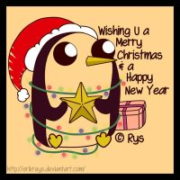 Gunter (Merry Xmas and Happy New Year Card) by ErikReys