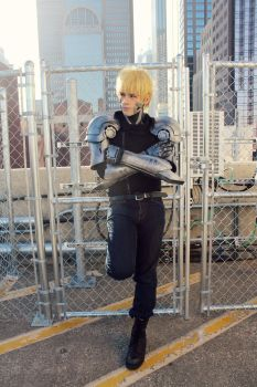 Genos - One Punch Man Cosplay by NipahCos