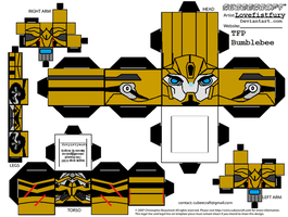 TRANSFORMERS PRIME BEE cubee part 1 by lovefistfury