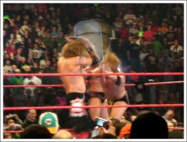 DX vs. Rated RKO by bluetogray