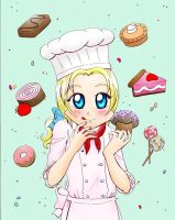 Chibi France Chef by Kelissa