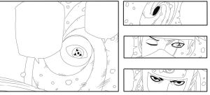 460- Page10 - 4 Panels Lineart by Sahil69