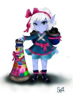 Little Girl Tristana by Szelia