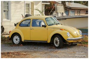 A Yellow VW Bug by TheMan268
