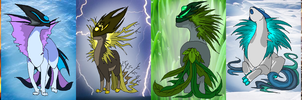 Fakemon elements by griffsnuff