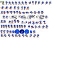 All of these sprites that imma use for this sheet by XxSpikeTheHedgehogXx