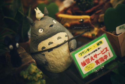 Totoro and Friends by Jasmineitor