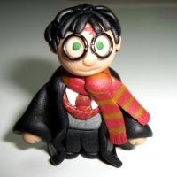 Harry Potter fimo by valenceleclerc