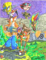 Crash Bandicoot: N. Dustrialized by mcp100