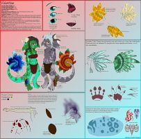 Valentae Species Ref Sheet by Dragara