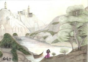 Morgana returns to Camelot by GilieBR