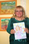 The artist and her works by ingeline-art