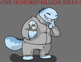 One HUNDRED BILLION Bells by WolfessGenivive
