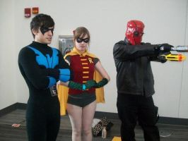 Me as nightwing by InsertWittyWords