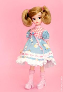 Licca replica doll 2 by thelocksley