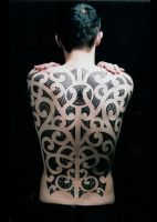 maori backpiece by nakedarttattoo