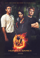 HUNGER GAMES poster by AliceCullen88