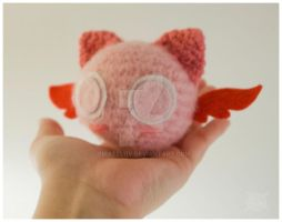 Mini Mew amigurumi by pirateluv
