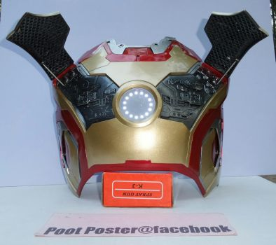 Iron man chest mark 42 lifesize by PootPoster