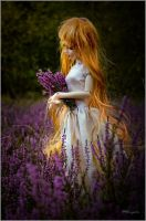 Lady in Heather by Farasia