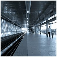 Waiting for Metro by Val-Faustino