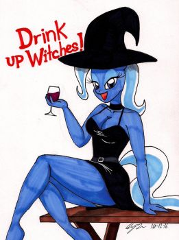 Happy Halloween from Trixie by newyorkx3