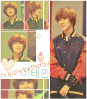 Happy Birthday Taeminnie by FAshi0nAblii-LAt3