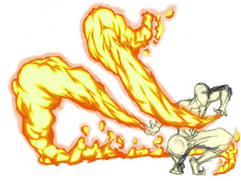 Firebending, Arms by moptop4000