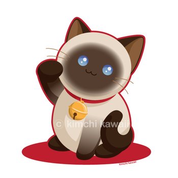Lucky Cat by kimchikawaii