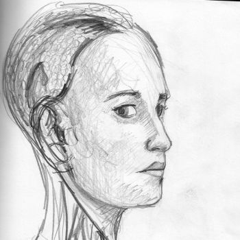 Alicia Vikander as Ava in Ex Machina by LCNarwhal