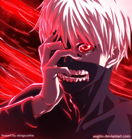 TOKYO GHOUL by aagito