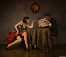 With photograper Peter Kemp by DenaMassque
