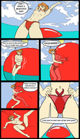 Agent Aika: Attack of the Beachside Balloon page 1 by ProfessorMegaman
