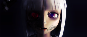 _MMD_ The darkness within by xXHIMRXx